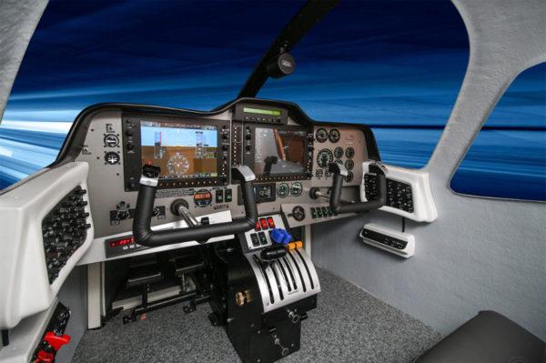 Tecnam P2006T FNPTII simulator