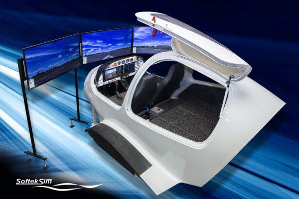 DA42 FNPTII simulator