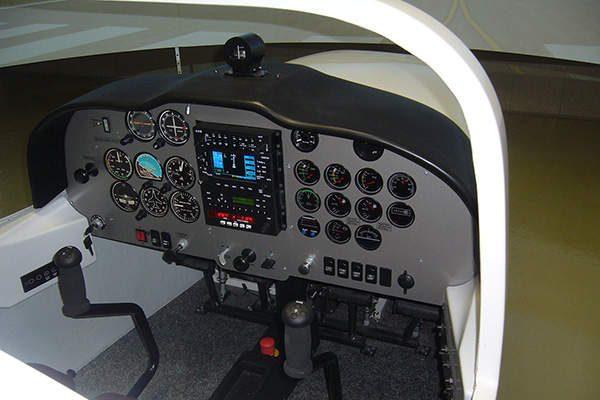 Tecnam P2002simulator